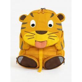 Žlutý batůžek ve tvaru tygra Affenzahn 8 l