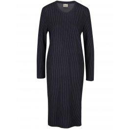 Tmavě modré pruhované šaty Selected Femme Reina
