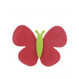 Červený vonný motýlek do auta Motýlek Marta Strawberry