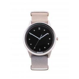 Pánské hodinky ve stříbrné barvě s textilním páskem HYPERGRAND