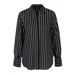 Černo-bílá pruhovaná košile Dorothy Perkins
