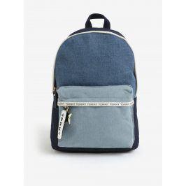 Modrý džínový batoh Tommy Hilfiger