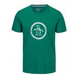 Zelené tričko s potiskem Original Penguin