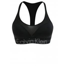 Černá sportovní push-up podprsenka Calvin Klein