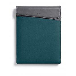 Modro-šedý obal na notebook s koženými detaily Bellroy Laptop Sleeve Extra 13