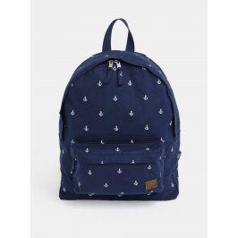Tmavě modrý batoh s potiskem Roxy Sugar Baby