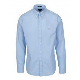 Světle modrá pánská slim košile GANT