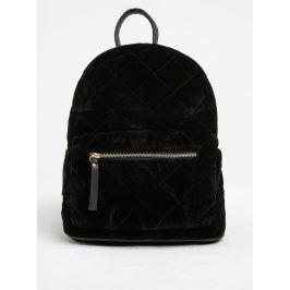 Černý prošívaný batoh Pieces Josephine