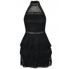 Černé šaty s volány AX Paris