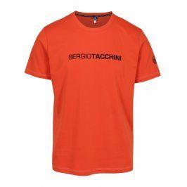 Oranžové pánské tričko Sergio Tacchini Robin