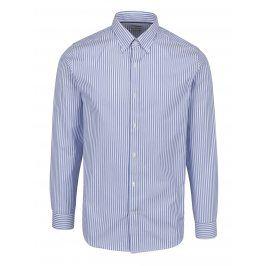 Světle modrá formální košile s pruhy Selected Homme Done