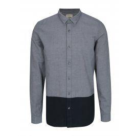Modrá regular fit košile Selected Homme Two Todd