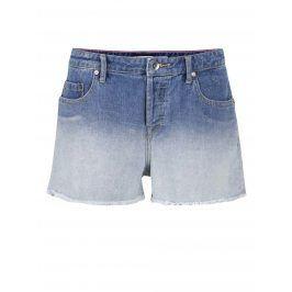 Modré džínové kraťasy s ombré efektem Roxy Lovely