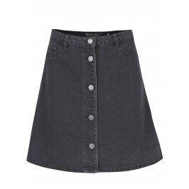 Tmavě šedá džínová sukně Noisy May Sunny