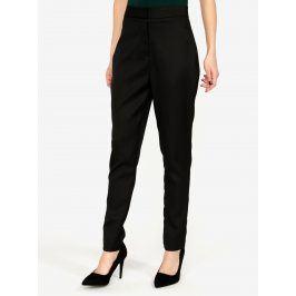 Černé kostýmové kalhoty s vysokým pasem MISSGUIDED