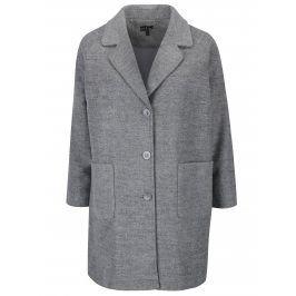 Šedý žíhaný kabát Ulla Popken