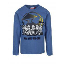 Modré klučičí triko s dlouhým rukávem Lego Wear Teo