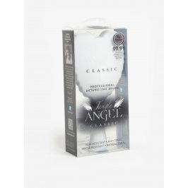 Bílý velký hřeben na vlasy ve tvaru andělských křídel Tangle Angel Classic