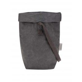Tmavě šedá taška s jedním popruhem UASHMAMA® Carry One