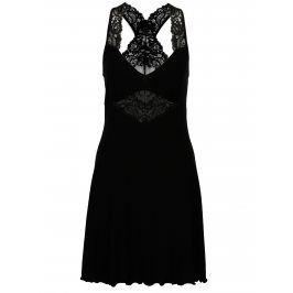 Černá noční košilka s krajkovými detaily Eldar Debora