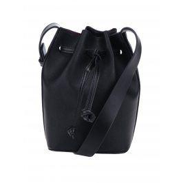 Černá vaková kabelka French Connection Saffiano Chelsea