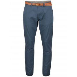 Šedomodré slim fit chino kalhoty Selected Homme Yard