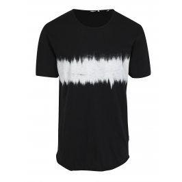 Černé dlouhé tričko s potiskem ONLY & SONS Samuel