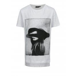 Krémové holčičí tričko s potiskem LIMITED by name it Sui
