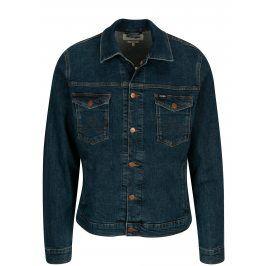Tmavě modrá pánská džínová bunda Wrangler Regular