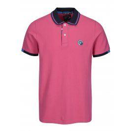 Růžové pánské polo tričko Jimmy Sanders