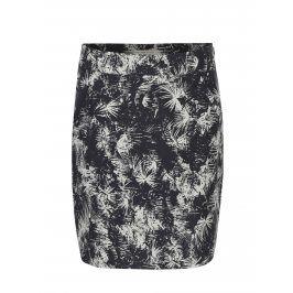 Tmavě šedá vzorovaná sukně Skunkfunk