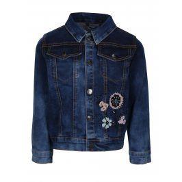 Modrá džínová holčičí bunda small rags Gerda