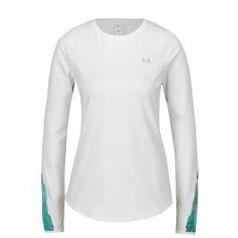 Zeleno-bílé dámské funkční tričko Under Armour ColdGear