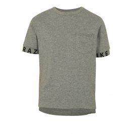 Šedé žíhané klučičí tričko LIMITED by name it Robert
