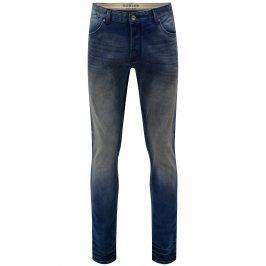 Modré regular slim fit džíny Dstrezze