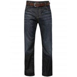 Tmavě modré pánské džíny s páskem s.Oliver