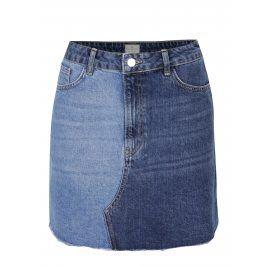 Modrá džínová sukně French Connection Allene