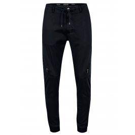 Tmavě modré kalhoty s kapsami Casual Friday by Blend