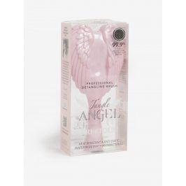 Světle růžový velký hřeben na vlasy ve tvaru andělských křídel Tangle Angel