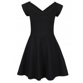 Černé šaty s pásky na zádech ZOOT