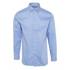 Světle modrá vzorovaná formální regular fit košile Selected Homme Two Pen