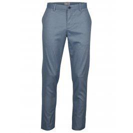 Modré slim fit chino kalhoty Original Penguin Large End on End