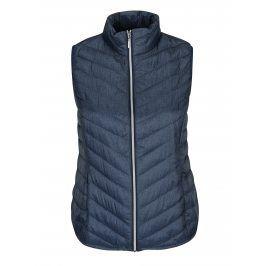 Modrá prošívaná vesta Gina Laura