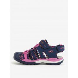 Růžovo-modré holčičí sandály Geox Borealis