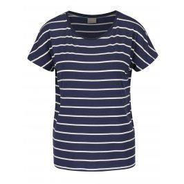 Tmavě modré pruhované tričko VERO MODA Charly