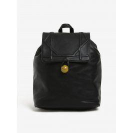 Černý stahovací batoh s přívěškem Nalí