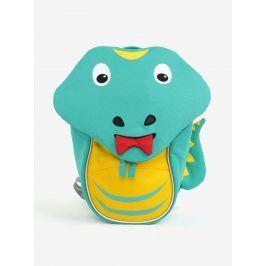 Zelený batoh ve tvaru hada Affenzahn 4 l