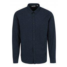 Tmavě modrá žíhaná košile Shine Original