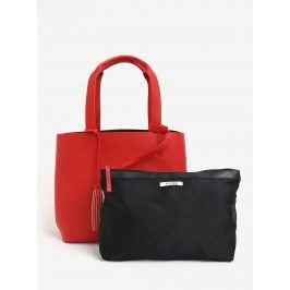 Červený shopper s pouzdrem 2v1 Pieces Illu