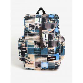 Krémový vzorovaný batoh Eastpak Austin 18 l